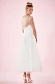 Charlotte Balbier Bridal Gown Kelly Back
