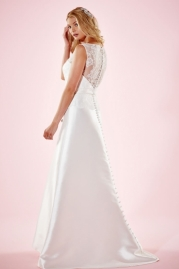 Charlotte Balbier Bridal Gown Lizzie Back
