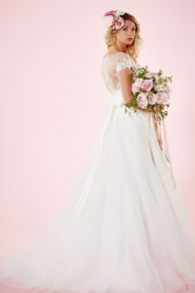 Charlotte Balbier Bridal Gown Lydia Back