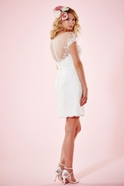 Charlotte Balbier Bridal Gown Lydia Short Back
