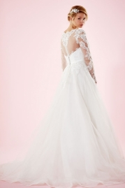 Charlotte Balbier Bridal Gown Marguerite Back