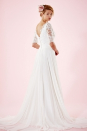 Charlotte Balbier Bridal Gown Maud Back