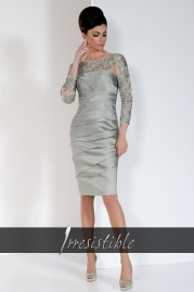 Irresistible Dress IR8501A5 Champagne