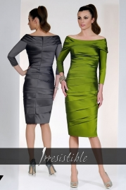 Irresistible Dress IR8624A5 Pewter Gooseberry