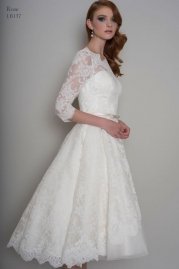 LouLou Bridal Wedding Dress LB137 Rose