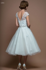 LouLou Bridal Wedding Dress LB81 Alice Back