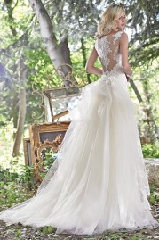 Maggie Sottero Jovi With Detachable Train