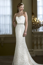 Nicki Flynn Wedding Dress Gardenia