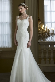 Nicki Flynn Wedding Dress Saffon