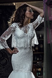 Olvis Wedding Dress 2309 Bolero 2275