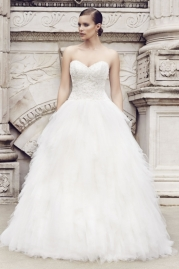 Paloma Blanca Wedding Dress 4551