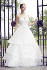 Paloma Blanca Wedding Dress 4555