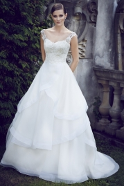 Paloma Blanca Wedding Dress 4566