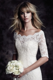 Paloma Blanca Wedding Dress 4604