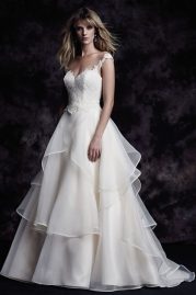 Paloma Blanca Wedding Dress 4605