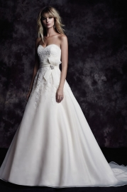 Paloma Blanca Wedding Dress 4607