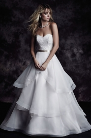 Paloma Blanca Wedding Dress 4610