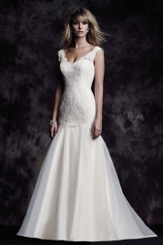 Paloma Blanca Wedding Dress 4615
