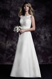 Paloma Blanca Wedding Dress 4617