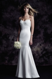 Paloma Blanca Wedding Dress 4618