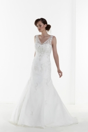 Phil Collins Wedding Dress PC4858