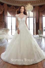 Sophia Tolli Wedding Dress Y21509