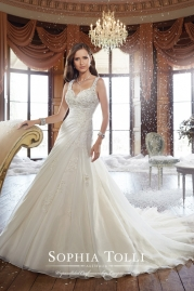 Sophia Tolli Wedding Dress Y21513