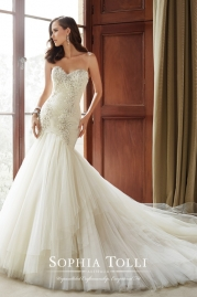 Sophia Tolli Wedding Dress Y21514