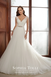 Sophia Tolli Wedding Dress Y21517