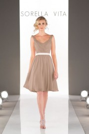 Sorella Vita Bridesmaids Dress 8508