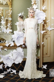 Yolan Cris Wedding Dress Maialen